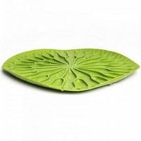 Сушка для посуды/поднос Qualy 'Bai Bua Tray' зеленая (QL10166-GN)