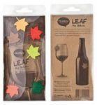 Подарок Набор маркеров для бокалов Qualy 'Leaf My Glass' (QL10104-MX)