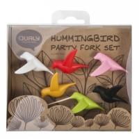 Подарок Набор шпажек для закусок и канапе Qualy 'Humming Bird' (QL10103-MX)