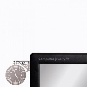 Подарок Украшение для монитора Peleg Design 'Часы' (PE339)