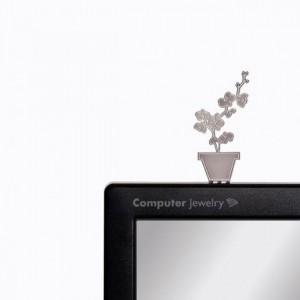 Подарок Украшение для монитора Peleg Design 'Орхидея' (PE337)