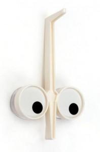 Держатель кухонных принадлежностей Peleg Design 'Look Hook' кремовый (PE823)
