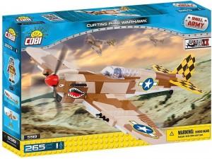 Конструктор Cobi 'Вторая Мировая Война Самолет Самолет Кертисс P-40 Вархавк' (COBI-5519)
