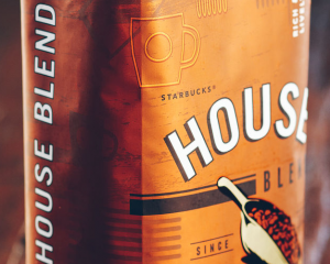 Подарок Кофе Starbucks House Blend Maison Ground (молотый) 453 г
