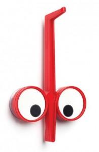 Держатель кухонных принадлежностей Peleg Design 'Look Hook' красный (PE821)