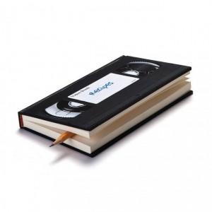 Подарок Скетчбук Peleg Design 'Видеокассета' (PE295)