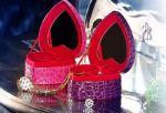 Подарок Шкатулка для украшений в виде сердца