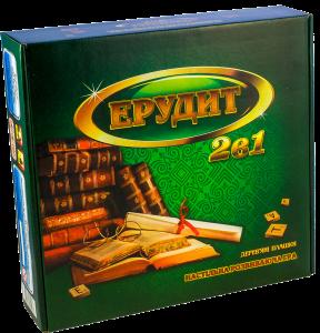 Настольная игра 'Ерудит 2 в 1 (Эрудит 2 в 1)' (1682)