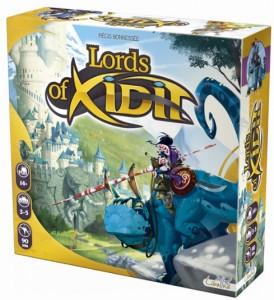 Настольная игра 'Lords of Xidit (Лорды Ксидита)' английская (1568)