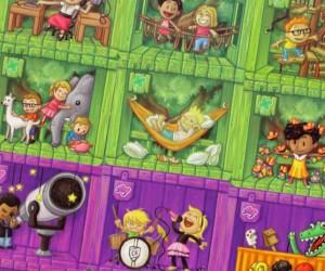 фото Настільна гра Igames 'Будиночок на дереві' (2395) #3
