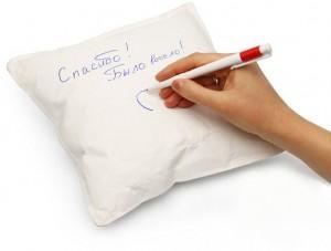 Подарок Бумажная подушка для пожеланий