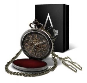 фото Коллекционные механические карманные часы Assassins Creed Unity #8