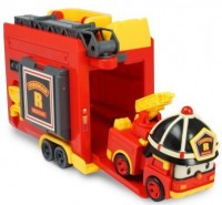 Трансформер Рой Silverlit 'Robocar Poli' с гаражом (83073)