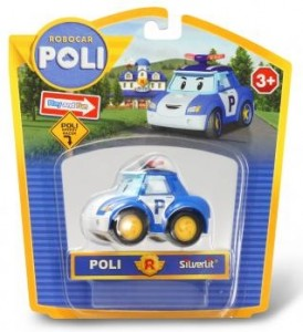 фото Металлическая машинка Silverlit 'Robocar Poli'  Поли, 6 см #3