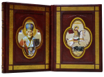 Книга Подарочный 2-х томник Иконы Святых воинов