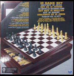 фото Набор из 10 классических игр Spin Master (SM98376/6033153) в деревянной коробке #2