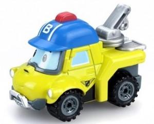 Металлическая машинка Silverlit 'Robocar Poli'  Бакки, 6 см