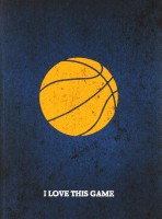 Книга I Love This Game. Баскетбол. Блокнот