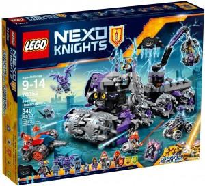Конструктор LEGO Nexo Knights 'Штаб Джестеро' (70352)
