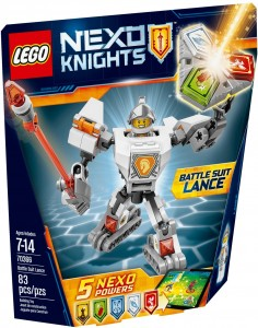 Конструктор LEGO Nexo Knights 'Боевые доспехи Ланса' (70366)