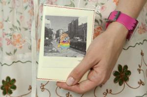 Подарок Обложка для паспорта 'Polaroid'