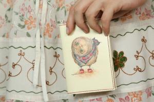 Подарок Обложка для паспорта 'Любопытство'