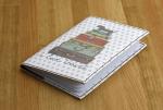 Подарок Обложка для паспорта 'На чемоданах'