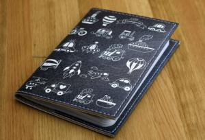 Подарок Обложка для паспорта 'Транспорт'