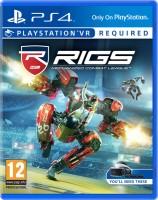 игра RIGS: Mechanized Combat League PS4 - Русская версия
