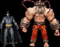 фигурка Набор фигурок Batman Arkham Asylum Batman Vs Bane (2 шт)