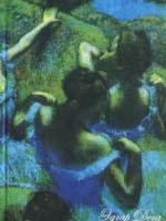 Книга Эдгар Дега. Голубые танцовщицы
