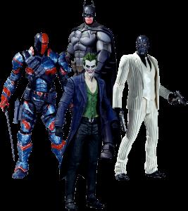 фигурка Набор фигурок Batman 'Arkham Origins' (4 шт)