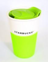Подарок Керамическая чашка VIA Starbucks (салатовая)