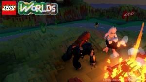 скриншот LEGO Worlds PS4 - Русская версия #2