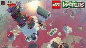 скриншот LEGO Worlds PS4 - Русская версия #7