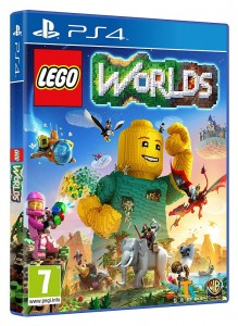 игра LEGO Worlds PS4 - Русская версия