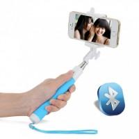 Подарок Селфи-монопод UFT SS22 Light Blue (Bluetooth)