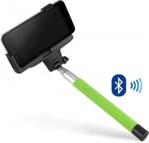Подарок Селфи-монопод UFT SS24 Light Green (Bluetooth)