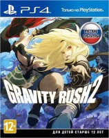 игра Gravity Rush 2  PS4 - Русская версия