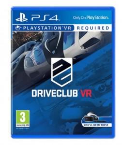 игра Driveclub PS4 VR