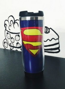 Подарок Оригинальная термокружка 'Superman'
