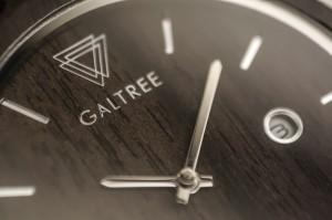 фото Деревянные часы Galtree 'Grace' Black (Эбеновое дерево) #2