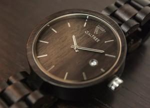 фото Деревянные часы Galtree 'Grace' Black (Эбеновое дерево) #3