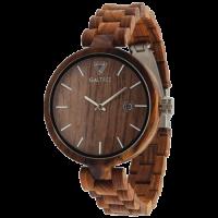 Подарок Деревянные часы Galtree 'Grace' Red (Красный сандал)