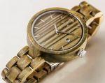 фото Деревянные часы Galtree 'Grace' White (Клен) #5
