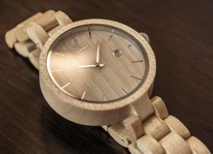 фото Деревянные часы Galtree 'Grace' White (Клен) #2