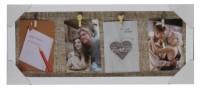 Подарок Фоторамка EVG 'White-brown Collage 4' (BIN-522081)