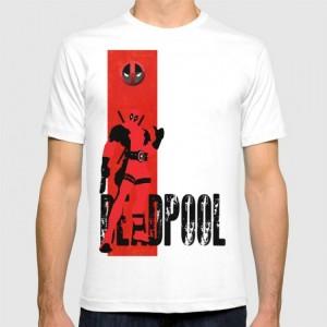 Подарок Дизайнерская футболка 'Deadpool'