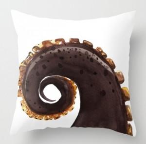 Подарок Интерьерная подушка 'Octopus Tentacle'