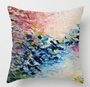 Подарок Интерьерная подушка 'Paradise Dreaming. Colorful Pastel'